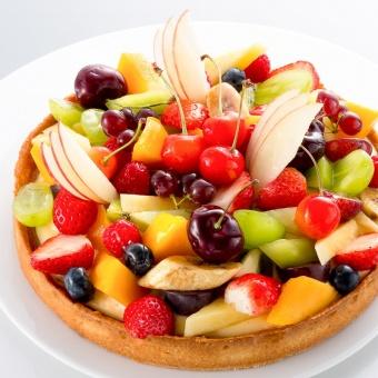 「フルーツのタルト」
