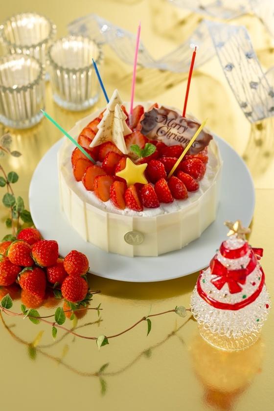 苺のクリスマスケーキ